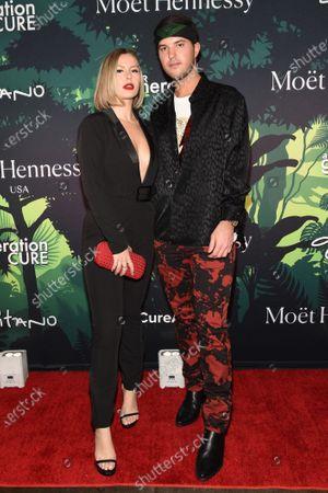 Stock Photo of Serena Kerrigan and Andrew Warren