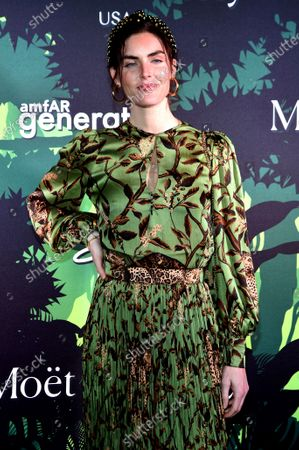 Editorial image of Fifth Annual amfAR Generation CURE Holiday Party, Arrivals, New York, USA - 10 Dec 2019