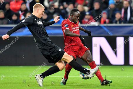 Editorial photo of Soccer Champions League, Salzburg, Austria - 10 Dec 2019