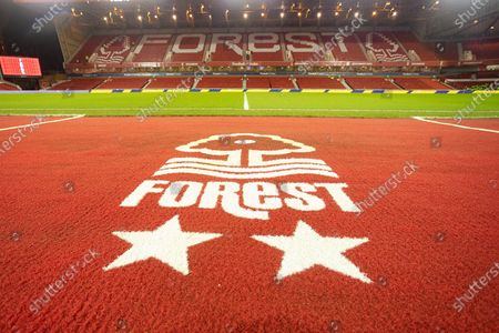 View of the Brian Clough stand before the EFL Sky Bet Championship match between Nottingham Forest and Middlesbrough at the City Ground, Nottingham