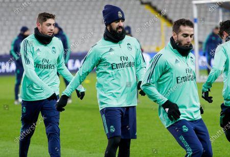 Editorial image of Real Madrid training, Bruges, Belgium - 10 Dec 2019