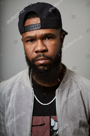 """Stock Image of This photo shows Grammy award-winning rapper Chamillionaire posing for a portrait in New York. A co-founder of popular underground Texas group the Color Changin' Click, is best known for his hit """"Ridin Dirty"""