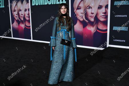 Editorial photo of 'Bombshell' film premiere, Arrivals, Regency Village Theatre, Los Angeles, USA - 10 Dec 2019