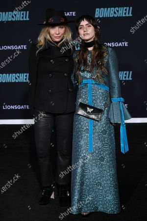 Stock Image of Rosanna Arquette and Zoe Sidel