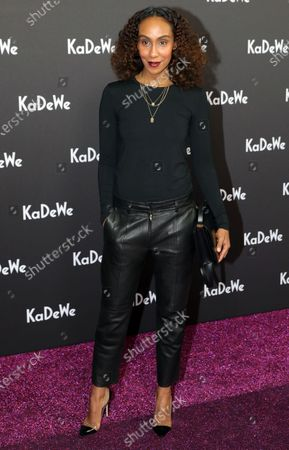 TV moderator Hadnet Tesfai attends the grand opening of the Kaufhaus des Westens (KaDeWe) department store in Berlin, Germany, 10 December 2019. The KaDeWe is the second largest department store in Europe with over 60 thousand square meters of selling space. At the moment the building is undergoing a major refurbishment process.