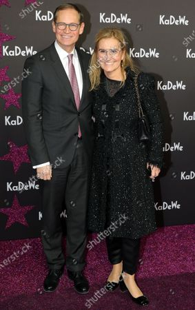 Petra Fladenhofer of the KaDeWe group (R) and the mayor of Berlin, Michael Mueller, attend the grand opening of the Kaufhaus des Westens (KaDeWe) department store in Berlin, Germany, 10 December 2019. The KaDeWe is the second largest department store in Europe with over 60 000 square meters of selling space. At the moment the building is undergoing a major refurbishment process.