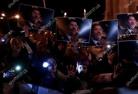 Editorial image of Protest for death penalty in Egypt, Istanbul, Turkey - 10 Dec 2019