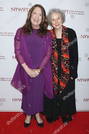 Ann Dowd and Margaret Atwood