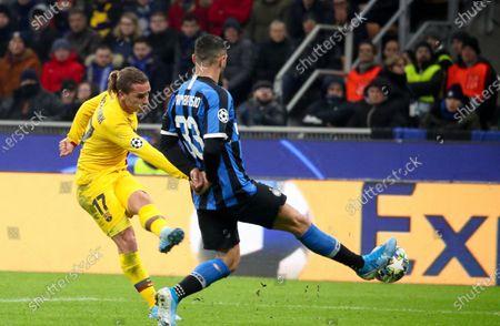 Editorial photo of FC Inter vs FC Barcelona, Milan, Italy - 10 Dec 2019