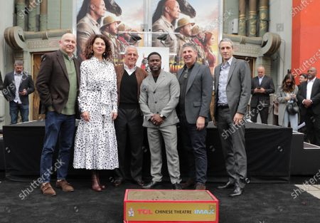Editorial image of Kevin Hart's Hand and Footprint Ceremony, TCL Chinese Theatre, Hollywood, Los Angeles, CA, USA - 10 Dec 2019