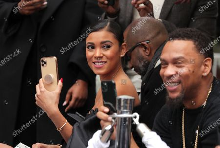 Eniko Parrish at Kevin Hart's Hand and Footprint Ceremony at the TCL Chinese Theatre.