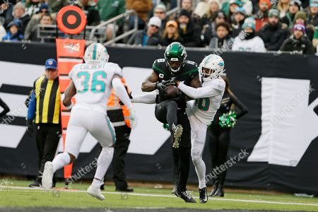 Editorial image of Dolphins Jets Football, East Rutherford, USA - 08 Dec 2019