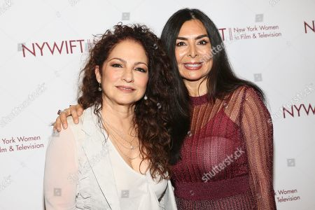 Gloria Estefan and Yvonne Russo
