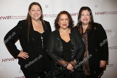 Camryn Manheim, Cynthia Lopez and guest