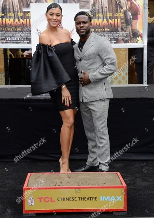 Editorial image of Kevin Hart honored with hand and footprint ceremony, Los Angeles, USA - 10 Dec 2019