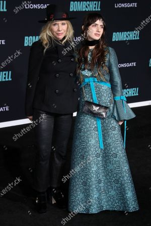 Rosanna Arquette and daughter Zoe Sidel