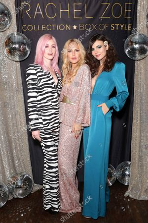 Editorial picture of Exclusive - Rachel Zoe Collection and Box of Style Holiday Event with Tanqueray, Los Angeles, USA - 11 Dec 2019
