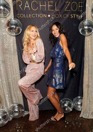 Stock Photo of EXCLUSIVE - Rachel Zoe and Greta Onieogou