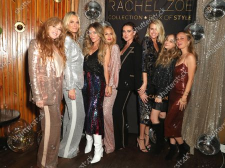 EXCLUSIVE - Kim Muller, Molly Sims, Rebecca Dane, Rachel Zoe, Anna Schafer, Sarah Wright, Carson Meyer and Jennifer Meyer