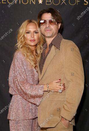 Stock Image of EXCLUSIVE - Rachel Zoe and Roger Berman