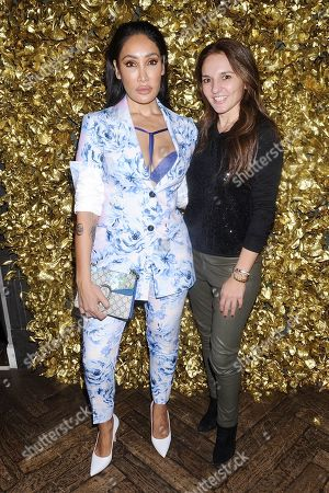 Stock Picture of Sofia Hayat and Guest
