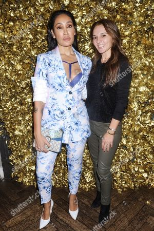 Sofia Hayat and Guest