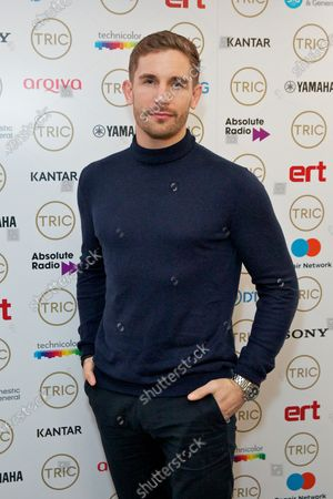 Editorial picture of TRIC Awards Christmas Lunch, arrivals, Grosvenor House Hotel, London, UK - 10 Dec 2019
