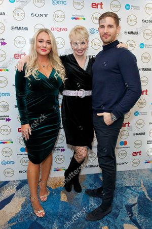 Kirsty Leigh Porter, Lysette Anthony and Adam Woodward