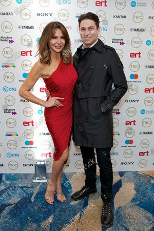 Stock Picture of Lizzie Cundy and Joey Essex