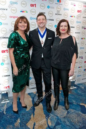 Stock Image of Lorraine Kelly, Richard Lindsay-Davies and Jane Ostler
