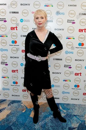 Editorial photo of TRIC Awards Christmas Lunch, arrivals, Grosvenor House Hotel, London, UK - 10 Dec 2019