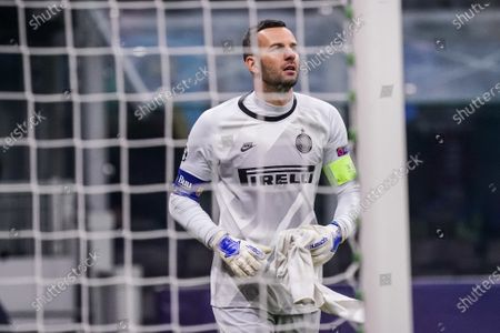 Samir Handanovic of Inter Milan