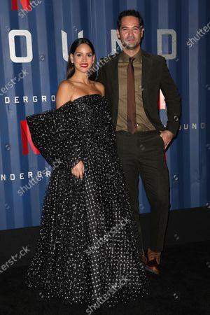 Adria Arjona and Manuel Garcia-Rulfo