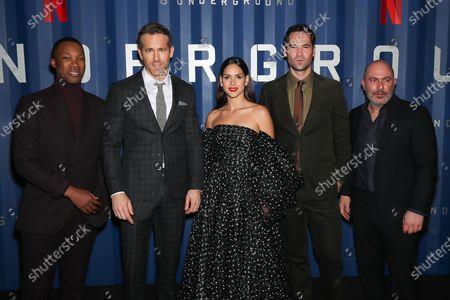 Ryan Reynolds, Corey Hawkins, Adria Arjona, Manuel Garcia-Rulfo, Jeffrey Beecroft