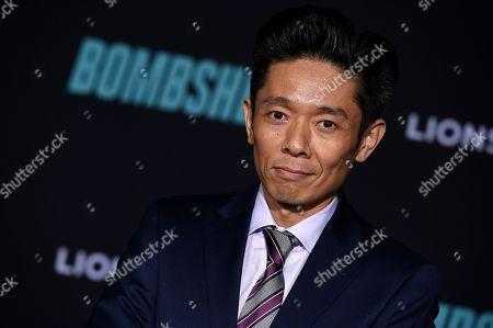 "Kazuhiro Tsuji attends the premiere of ""Bombshell"" at Regency Village Theatre, in Los Angeles"