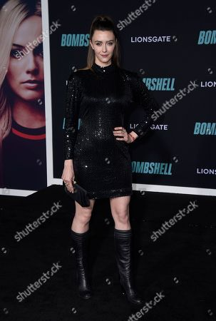 """Madeline Zima attends the premiere of """"Bombshell"""" at Regency Village Theatre, in Los Angeles"""