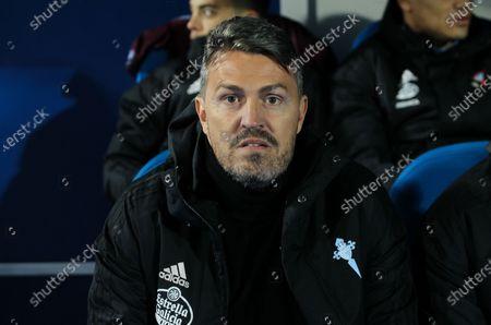 Oscar Garcia Junyent head coach of Celta Vigo