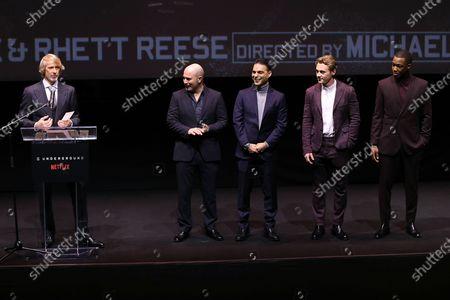Michael Bay (Director), Lior Raz, Payman Maadi, Ben Hardy, Corey Hawkins