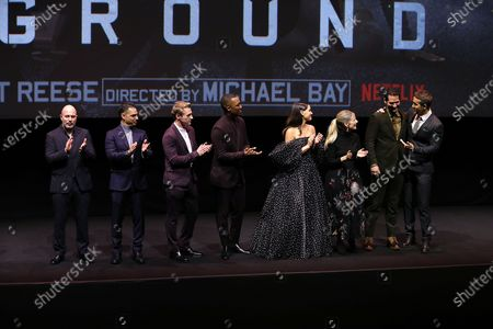 Editorial picture of New York Premiere of Netflix's 6 UNDERGROUND, USA - 10 Dec 2019