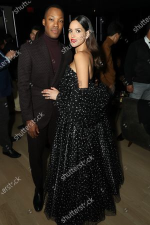 Stock Photo of Adria Arjona, Corey Hawkins