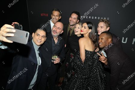 Editorial image of New York Premiere of Netflix's 6 UNDERGROUND, USA - 10 Dec 2019