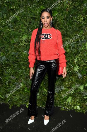 Herizen Guardiola attends the Chanel Nº5 In The Snow launch event at The Standard, High Line, in New York