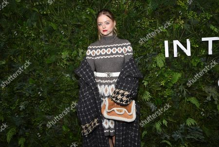 Editorial picture of Chanel N'5 In The Snow Launch Event, New York, USA - 10 Dec 2019