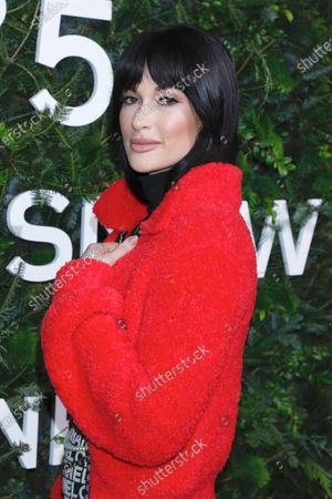 Editorial picture of Chanel No. 5 'In The Snow' party, The Standard High Line Hotel, New York, USA - 10 Dec 2019