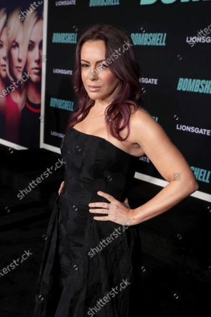 Alyssa Milano attends the Los Angeles Special Screening of Lionsgate's BOMBSHELL at the Regency Village Theatre in Los Angeles, CA on December 10, 2019.