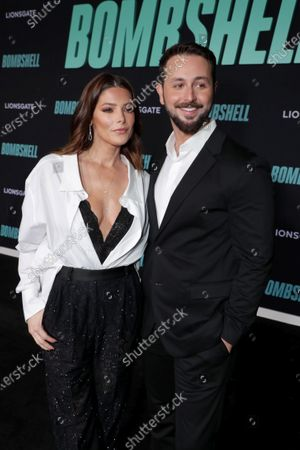 Ashley Greene and Paul Khoury attend the Los Angeles Special Screening of Lionsgate's BOMBSHELL at the Regency Village Theatre in Los Angeles, CA on December 10, 2019.