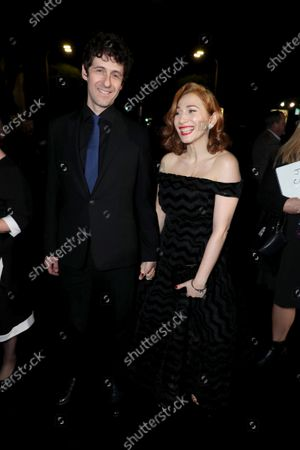 Jack Dishel and Regina Spektor attend the Los Angeles Special Screening of Lionsgate's BOMBSHELL at the Regency Village Theatre in Los Angeles, CA on December 10, 2019.