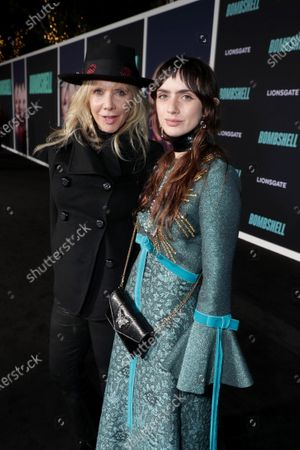 Rosanna Arquette and Zoe Sidel attend the Los Angeles Special Screening of Lionsgate's BOMBSHELL at the Regency Village Theatre in Los Angeles, CA on December 10, 2019.