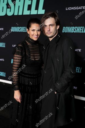 Ashley Levinson, Executive Producer, and Sam Levinson attend the Los Angeles Special Screening of Lionsgate's BOMBSHELL at the Regency Village Theatre in Los Angeles, CA on December 10, 2019.