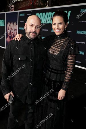Aaron L. Gilbert, Producer, and Ashley Levinson, Executive Producer, attend the Los Angeles Special Screening of Lionsgate's BOMBSHELL at the Regency Village Theatre in Los Angeles, CA on December 10, 2019.